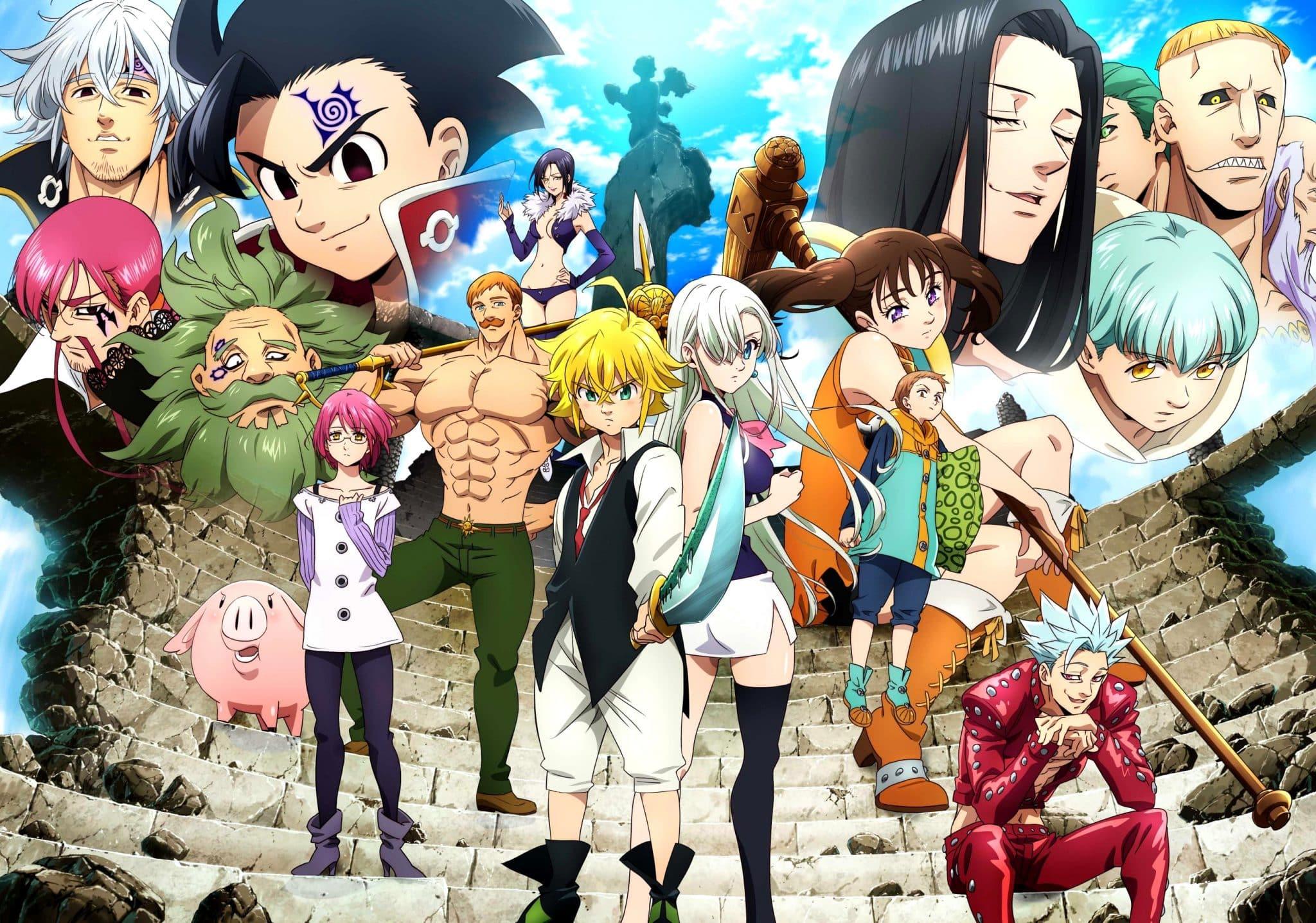 The Seven Deadly Sins : Une saison 4 annoncée !   Anim'Otaku
